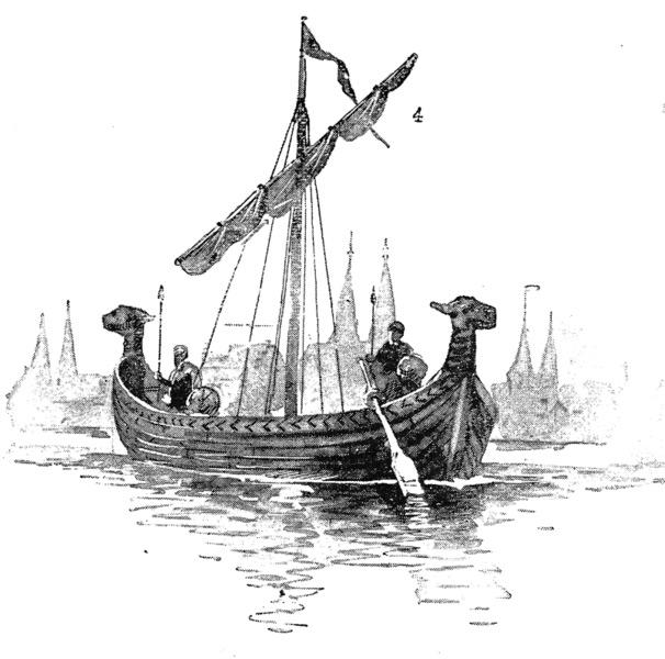 Корабль Ганзейского союза XIV-XV в.в.