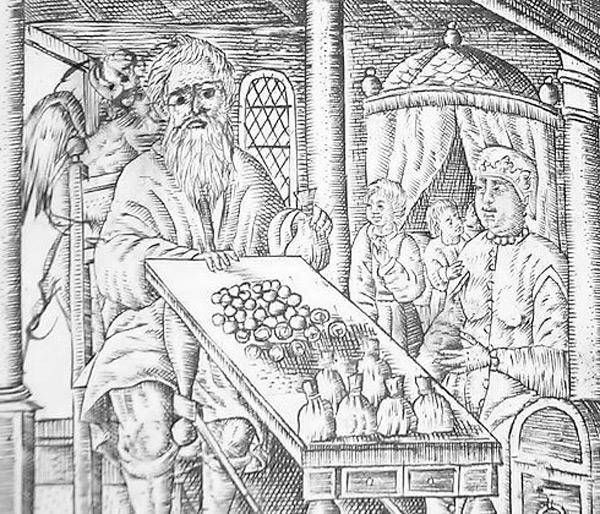 Ярославский купец, гравюра XVII в.