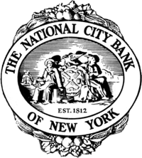 Логотип The  National City Bank of New York