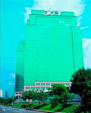 Главный офис Acer на Тайване