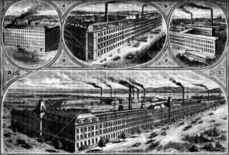 ������� Singer Manufacturing Company, �. ������������, ���� ���-������, ���, 1880 �.