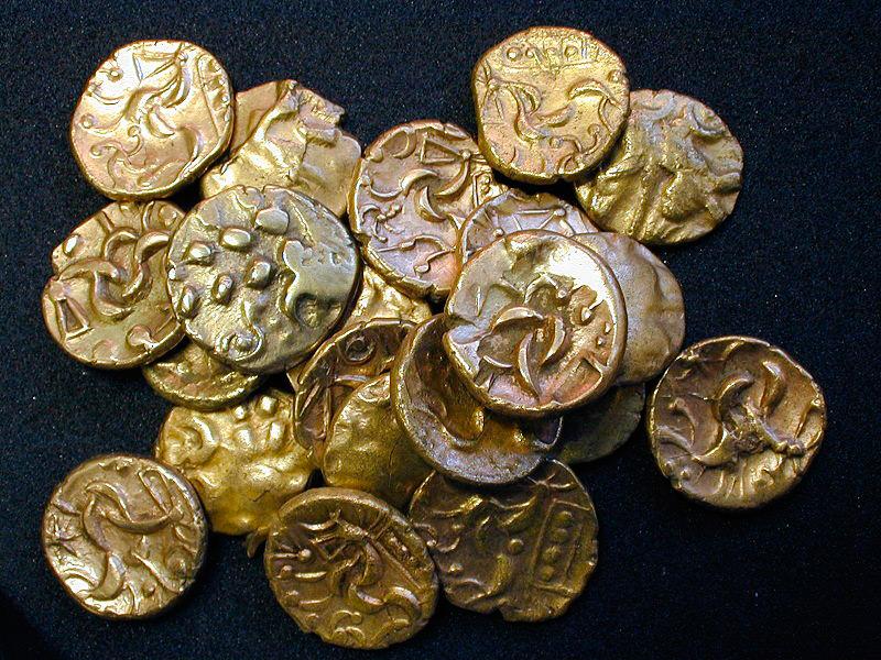 Монеты железного века (автор Portable Antiquities Scheme)